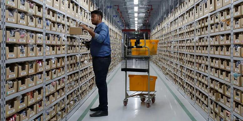 Les systèmes de rayonnages modulables permettent d'optimiser l'espace de stockage