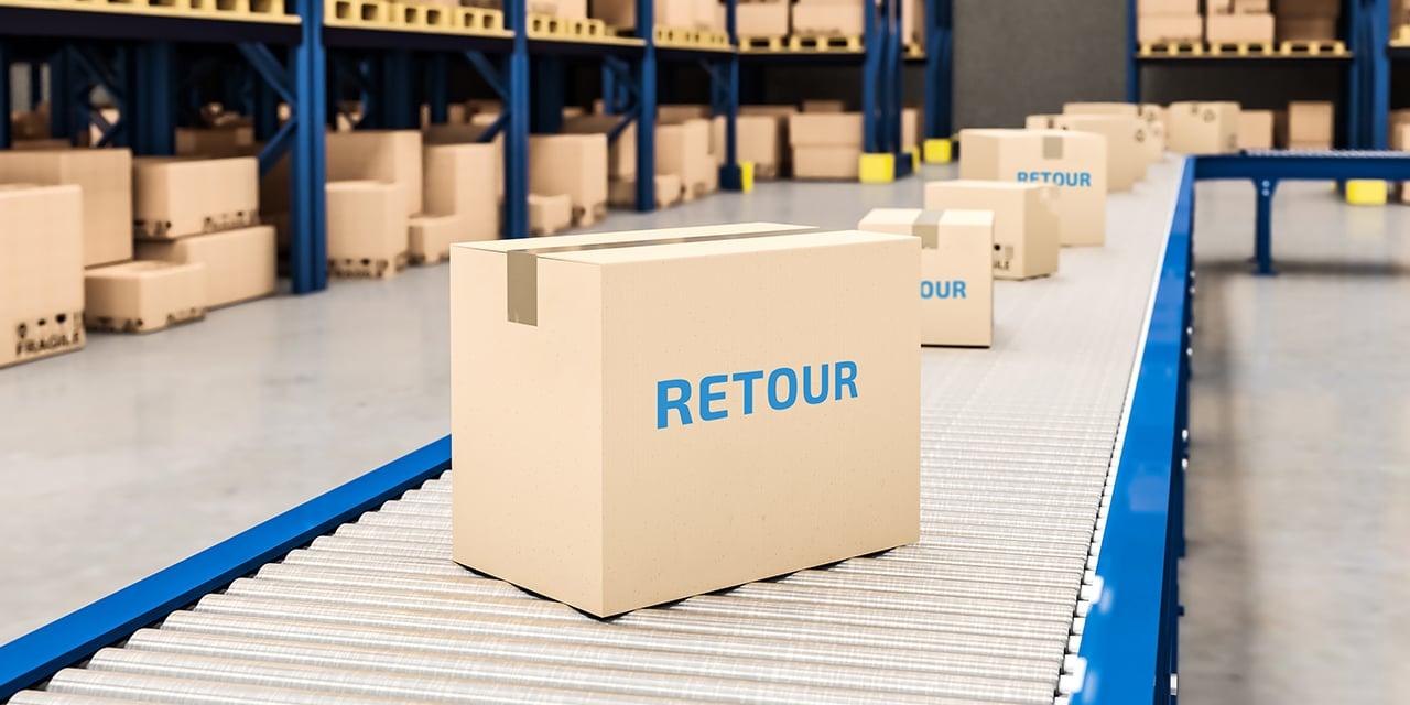 Alt : cartons retours