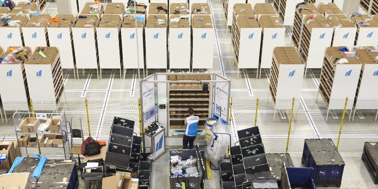 Station automatisée de réapprovisionnement Scallog : gain de productivité x 8 pour la gestion des retours
